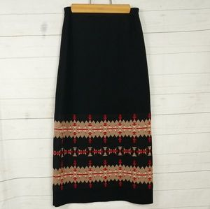 Pendleton Knit Merino Wool Skirt  Size - Small